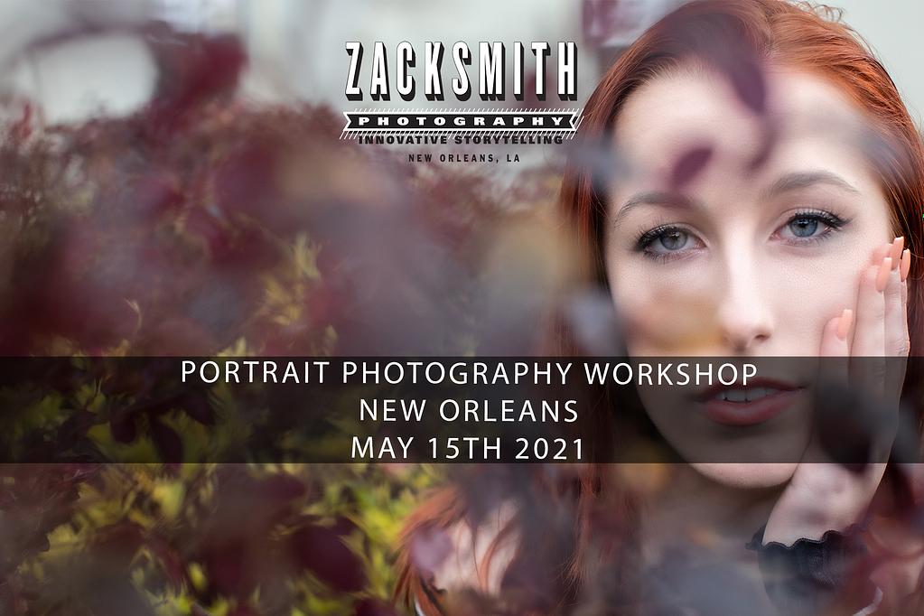 portrait new orleans workshop
