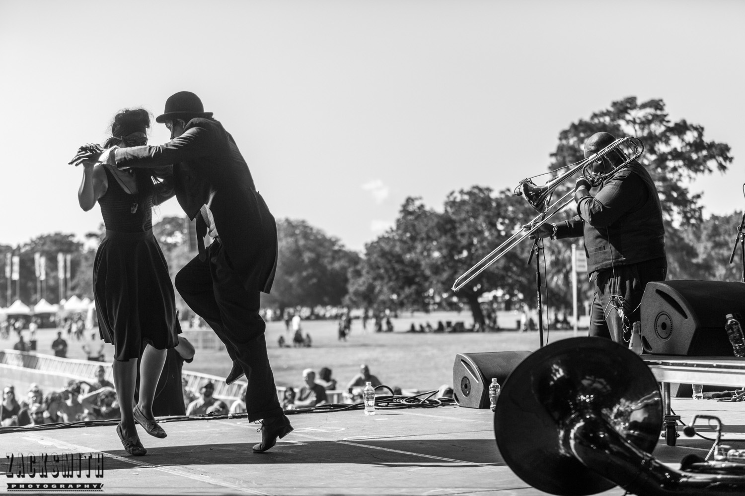 Dancers with Preservation Hall Jazz Band