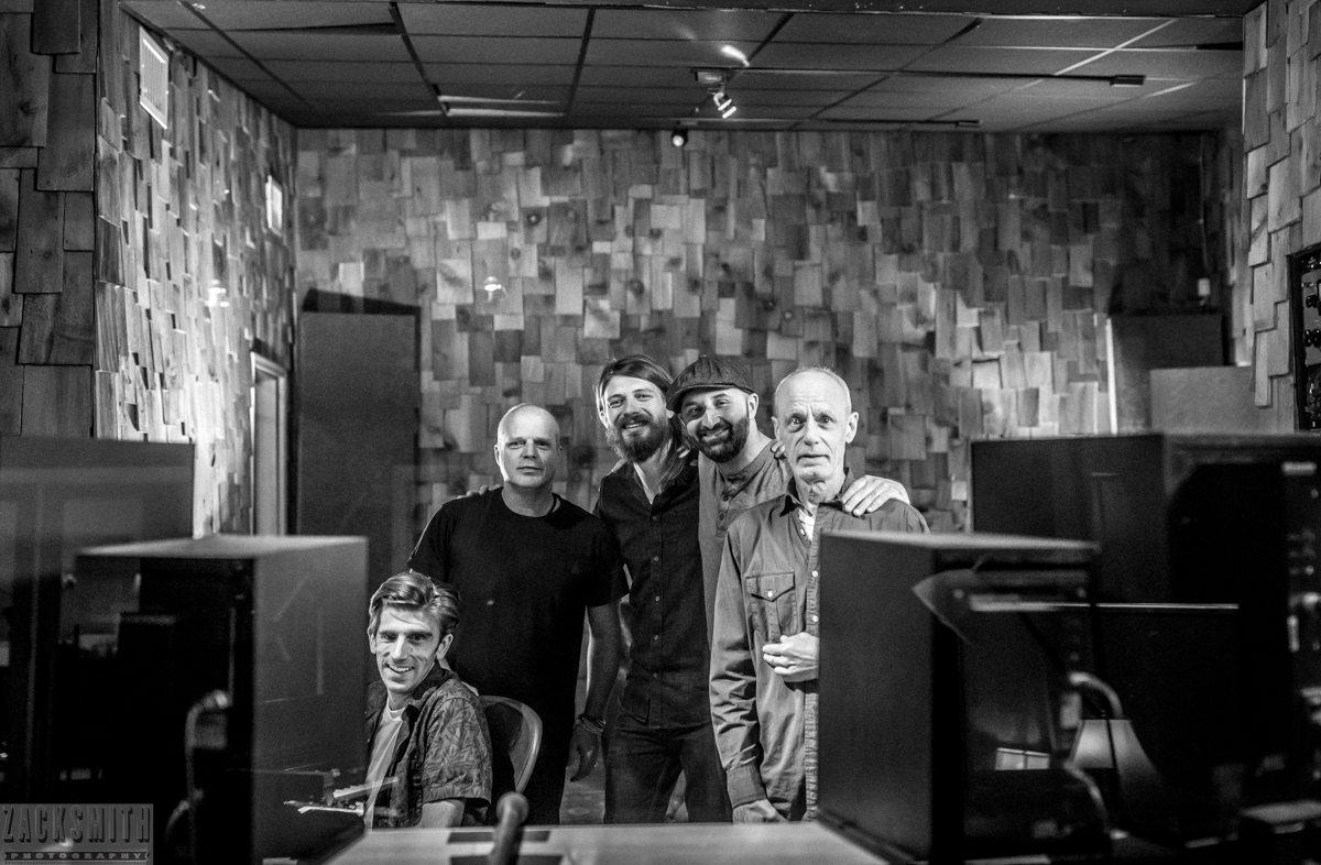 Engineer and producer Ben Lorio with John Medeski, Myles Weeks, Seth Walker and Johnny Vidacovich