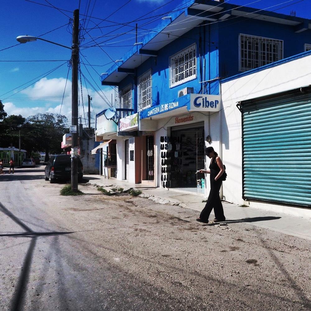 Helen in Downtown Tulum