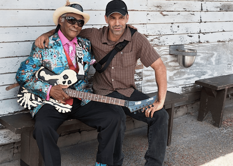 Zack Smith Photography Workshops. Blues legend Little Freddie King and Zack Smith. ©David Altschul 2016