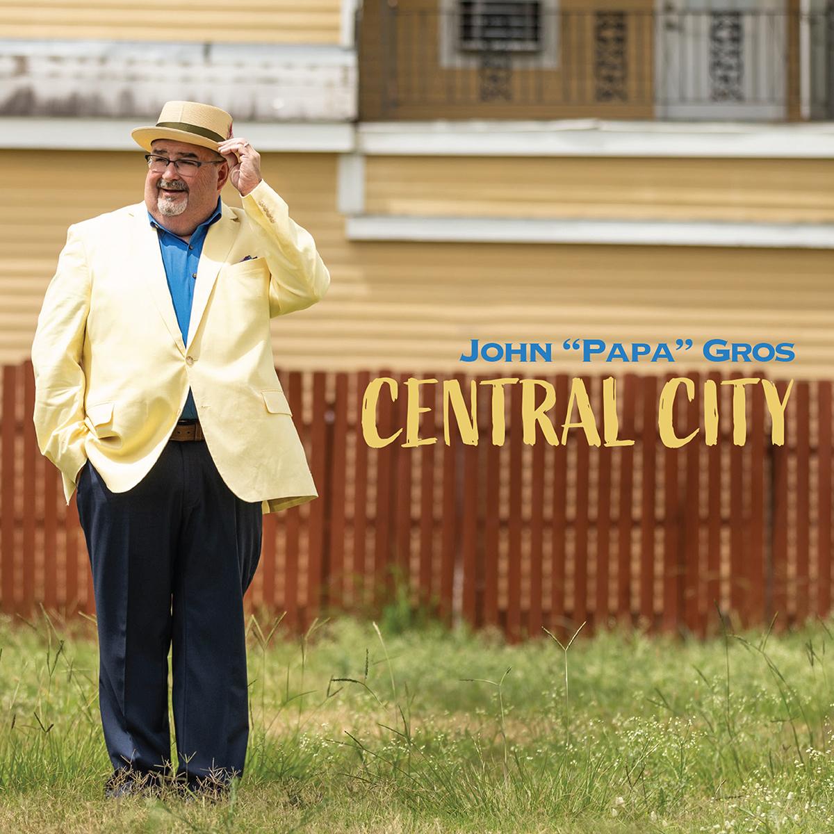 "New Orleans musician John ""Papa"" Gros portrait"