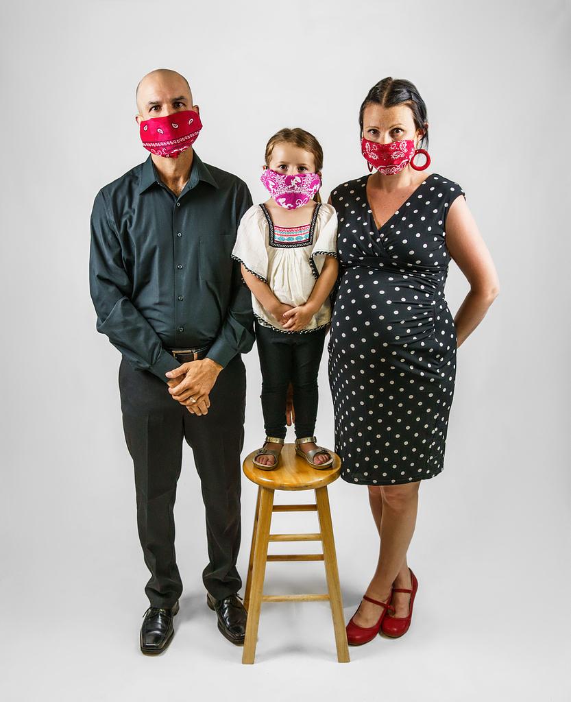 April 2020 Smith Family Portrait